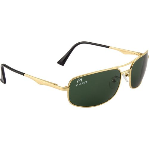 Aislin Rectangular Sunglasses(Green)
