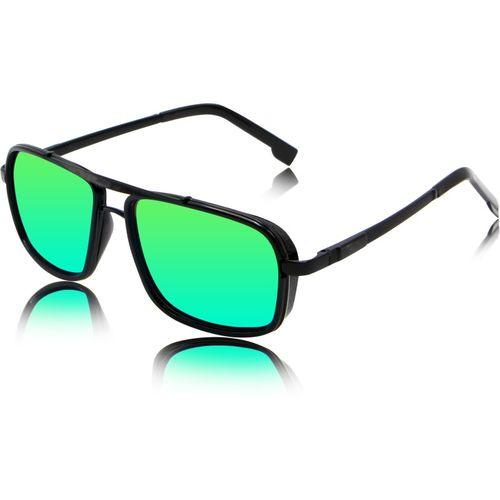 fashion sunglasses Rectangular Sunglasses(Green)
