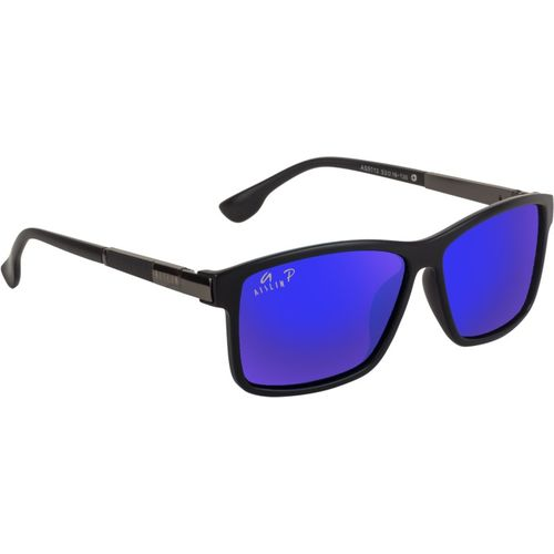 Aislin Rectangular, Wayfarer Sunglasses(Blue, Violet)