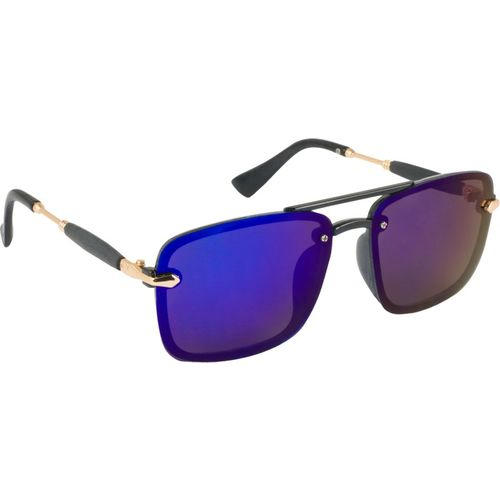TheWhoop Rectangular Sunglasses(Blue)