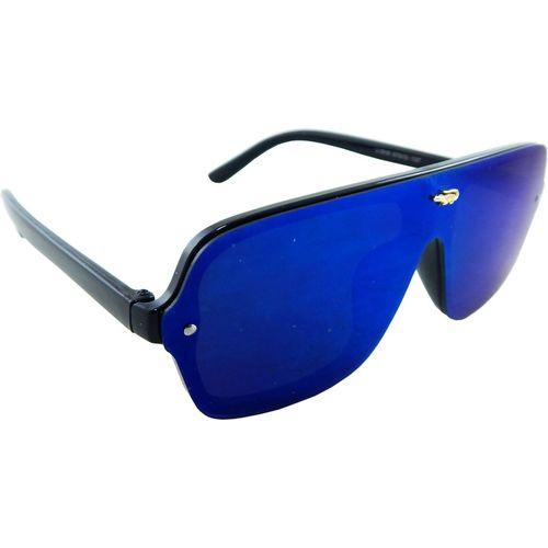 ELS Rectangular Sunglasses(Blue)