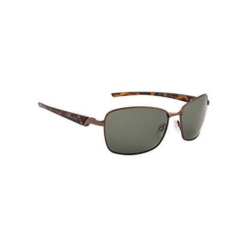 Farenheit Polarized Rectangular Unisex Sunglasses - (SOC-FA-2301P-C3|62|Green Color Lens)