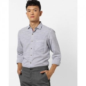 JOHN PLAYERS Striped Slim Fit Shirt with Patch Pocket