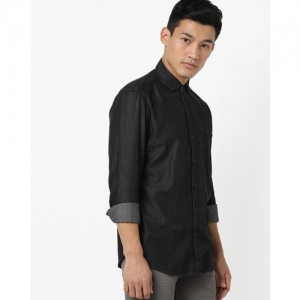 JOHN PLAYERS Extra Slim Fit Shirt with Patch Pocket