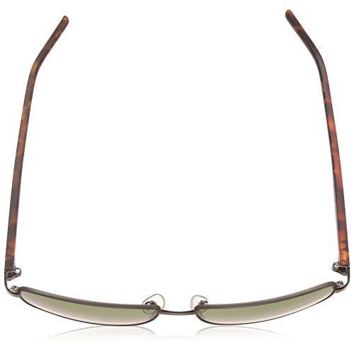 Polaroid Polarized Rectangular Men's Sunglasses - (PLD 2041/S VXT 59RC 59 Green Color)