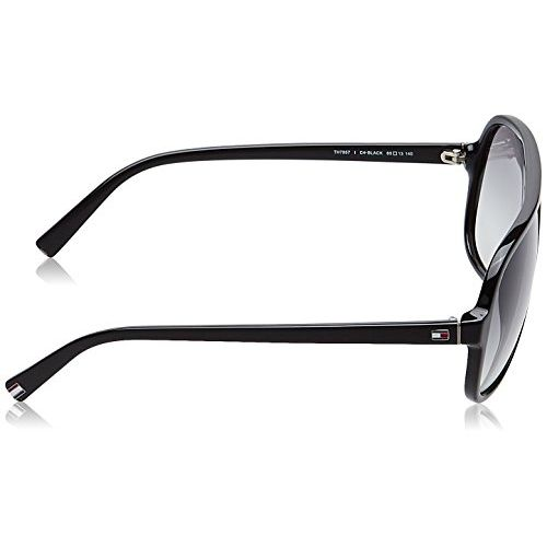 Tommy Hilfiger Gradient Rectangular Men's Sunglasses - (7957 C4 60 S|60|Grey Color)