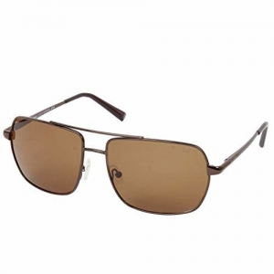 Lee Cooper Polarized Rectangular Men's Sunglasses - (LC9171NTB BRN|61|Brown Color Lens)