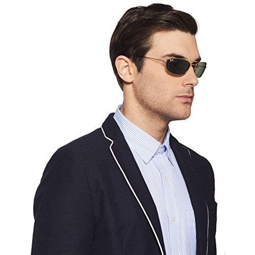 Ray-Ban Rectangular Men's Sunglasses (0RB3383I00160_Green)