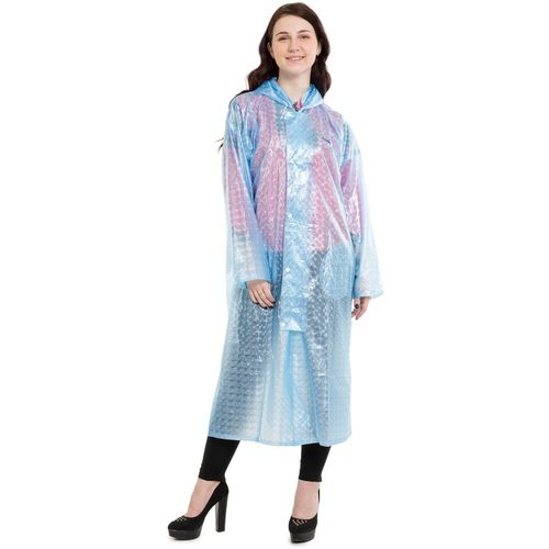 Burdy Solid Women Raincoat