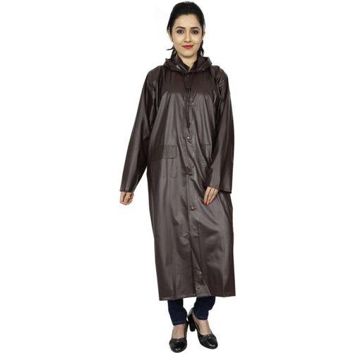 Shreejee Solid Women Raincoat