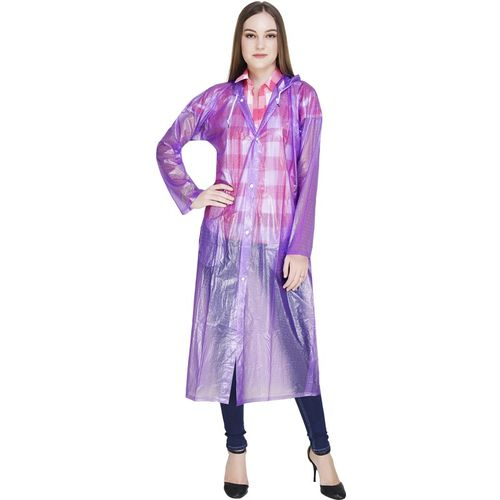 REXBURG Self Design Women Raincoat
