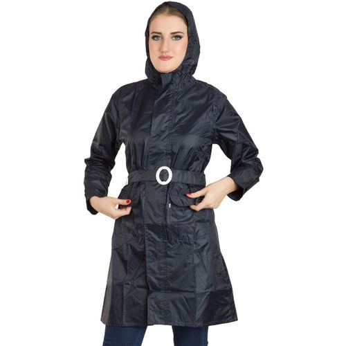 Burdy Solid Women Raincoat