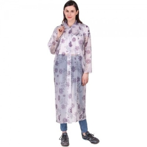 Finery Floral Print Women Raincoat