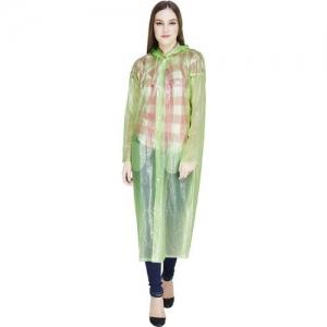 REXBURG Self Design Women Raincoat