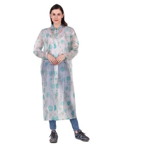 Finery Floral Print Women Raincoat
