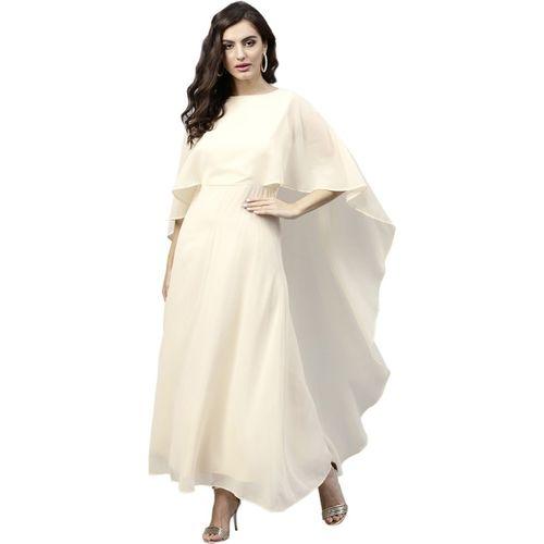 Femella Maxi Beige Dress