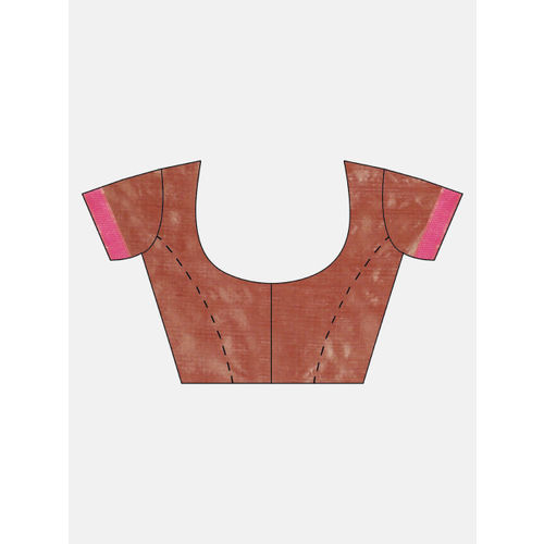Aradhya Pink Silk Blend Woven Design Banarasi Saree