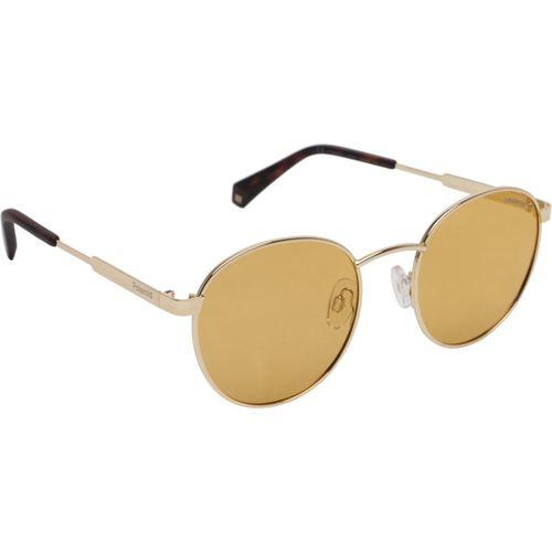 Polaroid Round Sunglasses(Yellow)