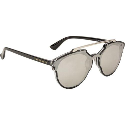 Farenheit Round Sunglasses(Silver)