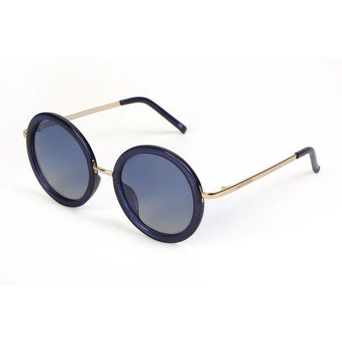 Marie Claire Round Sunglasses(Blue)