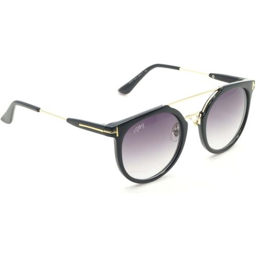 I-Gogs Round Sunglasses(Black, Grey)