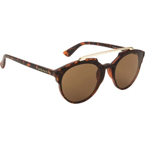 Farenheit Round Sunglasses(Brown)