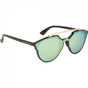 Farenheit Round Sunglasses(Green)