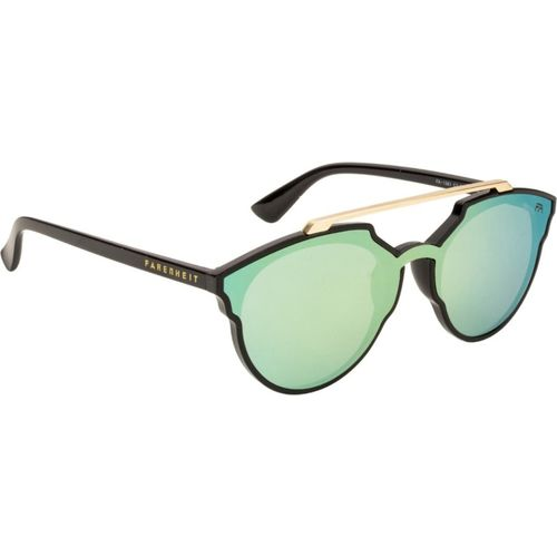 Farenheit Round Sunglasses(Green)