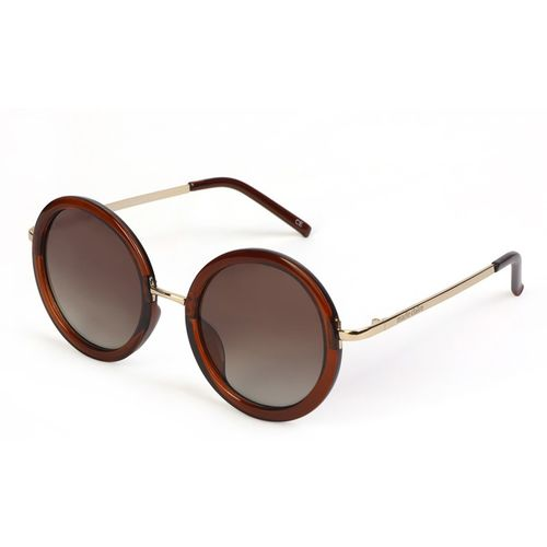 Marie Claire Round Sunglasses(Brown)