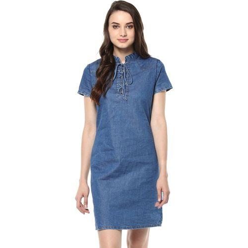 StyleStone Women Sheath Blue Dress