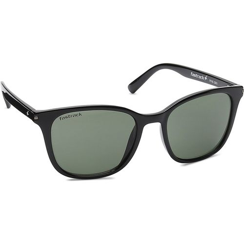 Fastrack Round Sunglasses(Green)