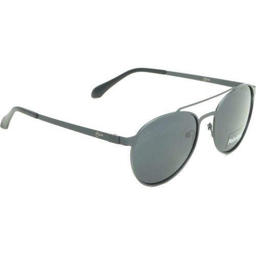 Fizan Round Sunglasses(Black)