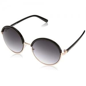 Fastrack Gradient Round Women's Sunglasses - (C070BK1F|55|Black Color)