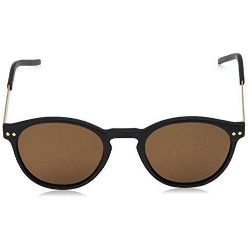 Polaroid Polarized Round Unisex Sunglasses - (PLD 1029/S 003 50SP 50 Brown Color)