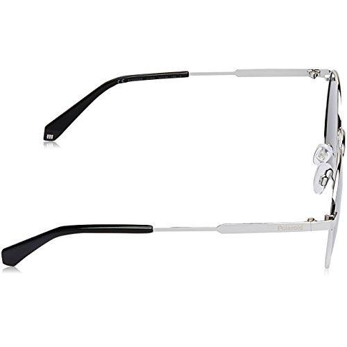 Polaroid Polarized Round Unisex Sunglasses - (PLD 2053/S 51EX 010|51|Silver Color)