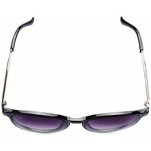 MTV Gradient Round Unisex Sunglasses - (Z65-069-B1 Purple|55|Purple Color Lens)