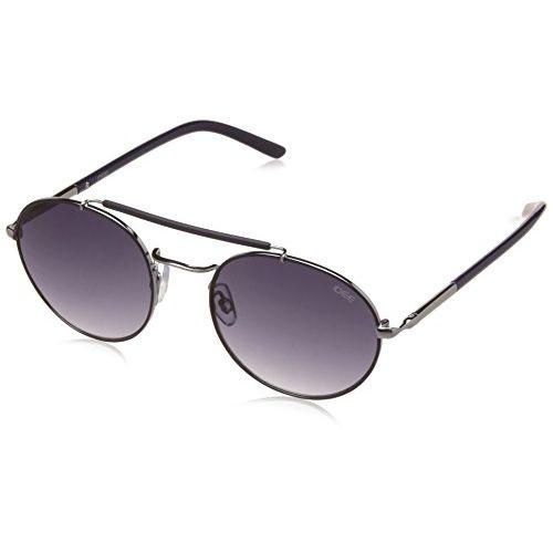 IDEE Gradient Round Unisex Sunglasses - (IDS2262C3SG|51|Blue Gradient Color)