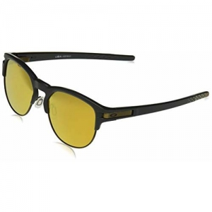Oakley UV Protected Round Men's Sunglasses - (888392399939|55|Gold Color Lens)