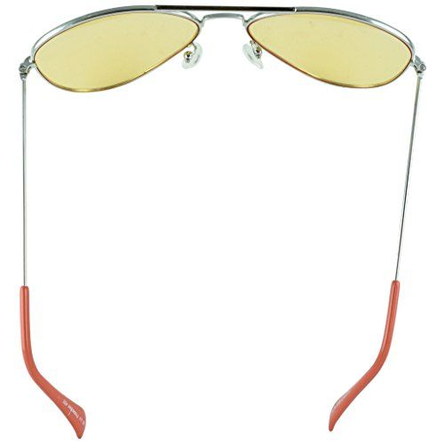 Polo House USA Men's Sunglasses ,Color-Silver Yellow(New)