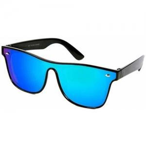 Adrian Shield Sunglasses(Blue)