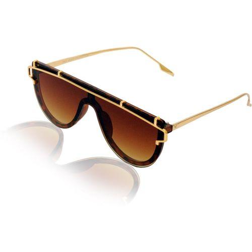 Ejebo Shield Sunglasses(Brown)