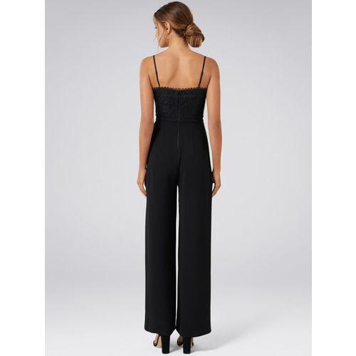 Forever New Women Black Basic Jumpsuit