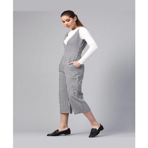 Street 9 Black & White Checks Jumpsuit