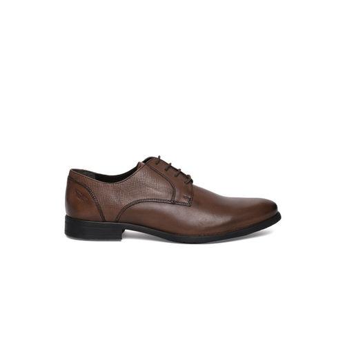 Park Avenue Men Formal Brown Genuine Leather Derbys