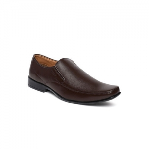 Park Avenue Men Formal Brown Genuine Leather Slip-ons