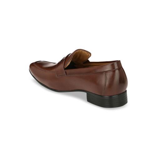 Ferraiolo Men Brown Formal Slip-Ons