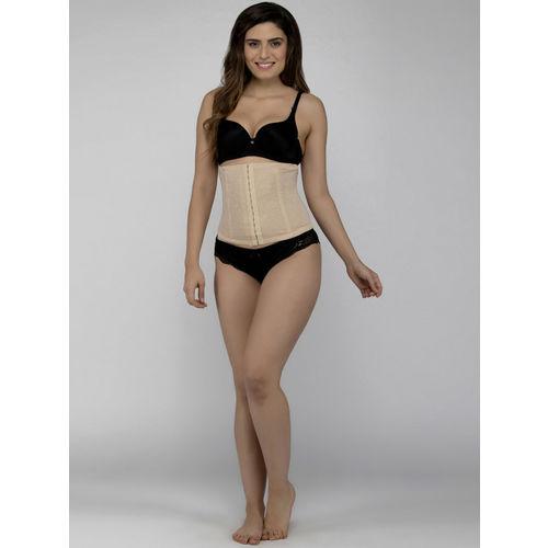 Laceandme Women skin -Coloured Floral Printed Tummy Shaper 4366