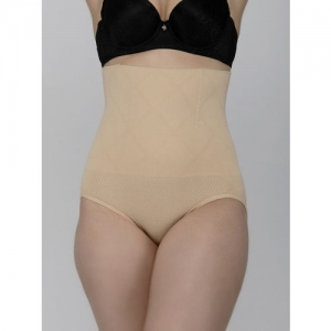 Laceandme Women skin -Coloured Solid Shaper Brief 4390