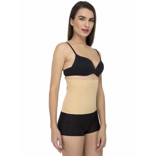Laceandme Beige Women Magic Wire Tummy Control Shapewear Belt 4159