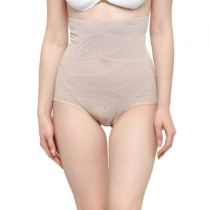 Laceandme Women skin -Coloured Solid Shaper Brief 3294